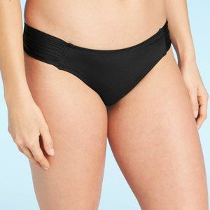 Xhilaration Black Tab Hipster Bikini Bottom